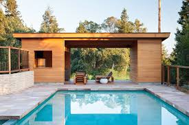modern pool house klopf architecture