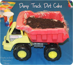 dump truck birthday cake peek a boo pages sew something special