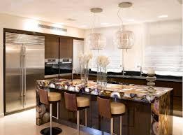 metal bar counter in kitchen design kitchen interior with a bar