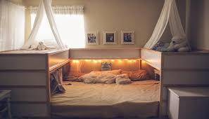 ikea bed this mom s amazing ikea hack is a co sleeper s dream come true