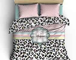 Cheetah Twin Comforter Custom Comforter Etsy