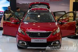 peugeot malaysia 2017 peugeot 2008 facelift launched in malaysia 1 2l turbo