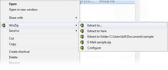 si e ordinateur winzip basic the fastest easiest way to zip unzip files