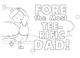caillou u0027s golf themed father u0027s u2013 printable coloring sheet