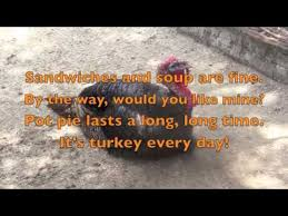 turkey songs poems children s songs lyrics thanksgiving