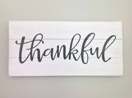thankful sign thankful wood sign rustic wood pallet sign