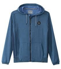 hurley men u0027s dri fit disperse fleece zip hoodie at swimoutlet com