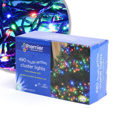 480 coloured multi cluster premier lights