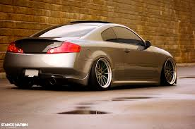 stanced cars low u0026 wide fitted u0026 stanced infiniti g35 infiniti
