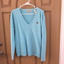 light blue cable knit sweater tehama light blue cable knit pull over v neck sweater size l ebay