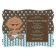 cute african american baby shower invitations for 2016