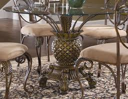 round glass top pedestal dining table dining room an amazing metal round glass top dining room table