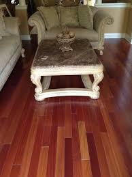 Trafficmaster Brazilian Cherry Laminate Flooring Flooring Brazilian Cherry Flooring Indusparquet Installed