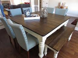 best 25 table with bench ideas on pinterest kitchen square dining