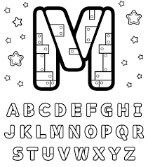 m free alphabet coloring pages alphabet coloring pages of