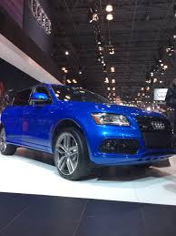 audi exclusive ara blue sq5 with blue diamond stitched interior