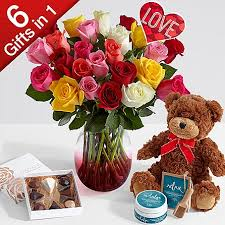 valentines roses all in one two dozen stemmed s roses