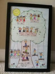 first grade fabulous fish classroom family tree