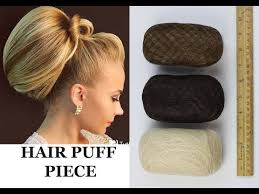 hair puff accessories hair padding hair puff chignon insert volume front poof