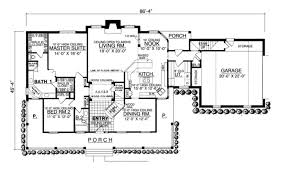 country style house plan 4 beds 3 00 baths 2656 sq ft plan 40 131
