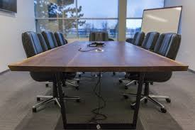 Live Edge Boardroom Table Custom Live Edge Conference Tables Wehrli Furniture
