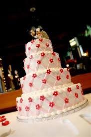 mickey and minnie cake topper lattice buttercream wedding cake with mickey and minnie cake