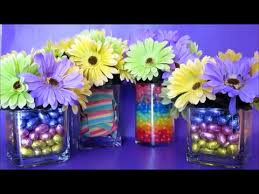Small Flower Vases Centerpieces Sweet Easter Flower Vases Centerpiece Arrangements Diy Crafts