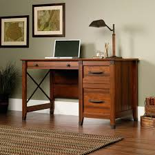Small Home Office Desk Office Desk Cabinet Computer Desk With Two File Drawers For Small