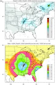 Seismic Risk Map Of The United States by The Influence Of Maximum Magnitude On Seismic Hazard Estimates In