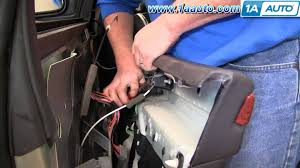 how to install replace remove front door panel chrysler pacifica