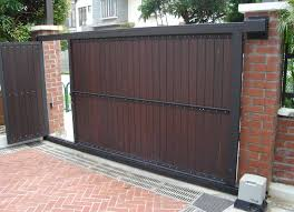 automatic sliding house gates google search our new build automatic sliding house gates google search