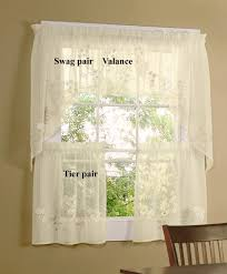 Cheap Cafe Curtains White Sheer Cafe Curtains Curtain Image Yellow Cheapcafe And