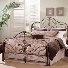 provence iron bed in antique gold humble abode