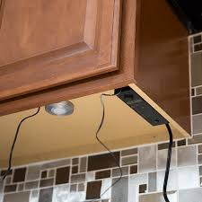 Cabinet Lights Kitchen How To Install Cabinet Lighting