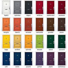 Exterior Door Paint Ideas Popular Exterior Door Paint Colours By Colors Design Lighting View