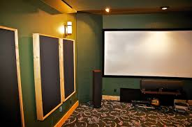 media room acoustic panels diy construction methods of hang able acoustic panels u0026 moveable