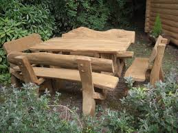 Rustic Wooden Bench Rustic Outdoor Furniture With Modern Concept Worth To Have Traba