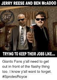 Reese Meme - jerry reese and ben mcadoo nfl sh talke trying to keep their jobs