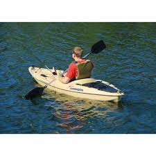 sun dolphin journey 10 u0027 sit on fishing kayak with paddle walmart com