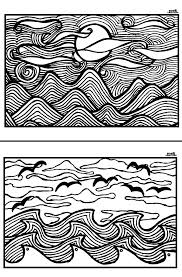 free printable coloring pages for adults landscapes sunset coloring pages landscape coloring pages sunset a sunset