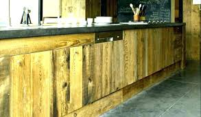 facade meuble cuisine meuble cuisine en bois brut oaklandroots40th info