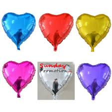 mylar balloons wholesale mylar balloons heart shape for promotional gifts