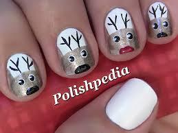 christmas nail art polishpedia nail art nail guide shellac