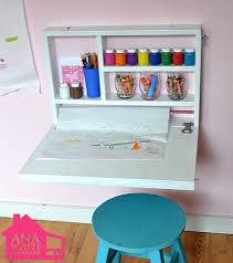 fold out wall desk fold up wall desk ana white flip down wall art desk diy projects