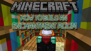 how to build an enchantment room in minecraft youtube