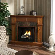 tv stand wonderful media console electric fireplace in chestnut