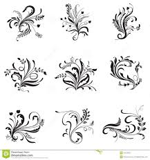 flower ornaments royalty free stock photography image 34576037