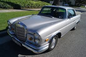 mercedes 280se coupe for sale 1969 mercedes 280se black leather stock 312 for sale near
