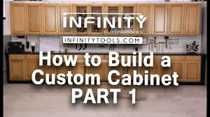 where to buy pre made cabinets how to build a custom cabinet part 1
