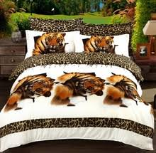 Tiger Comforter Set Tiger Bed Set Promotion Shop For Promotional Tiger Bed Set On